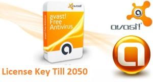 Avast Free Antivirus License Key Till 2050