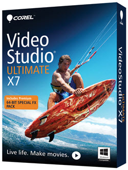 Corel VideoStudio Pro X7 Cracked Full Free Download