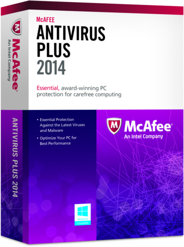 McAfee AntiVirus Plus 2014 Crack Full Download Free