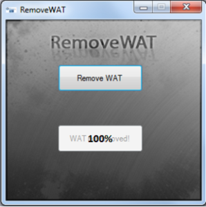 RemoveWAT Windows 8 Automatic Activator Full Free Download