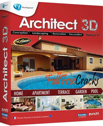 Avanquest architect 3d ultimate 2017 serial key for Architecte 3d avanquest