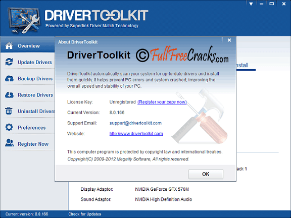 Driver Toolkit 8.5 Crack Keygen Full License Key