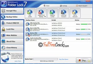 Folder Lock 7.6.0 Serial Key