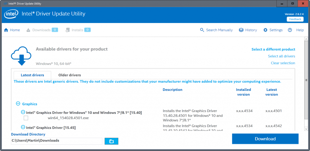 Intel Driver Update Utility 2.9.0.2 [Latest]