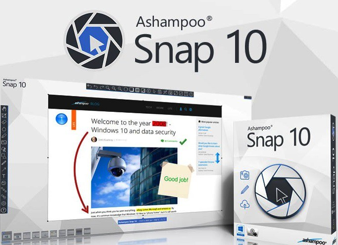 Ashampoo Snap 10.0.4 Crack With Serial Key 2017