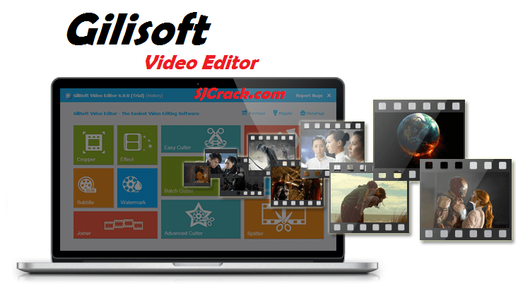 GiliSoft Video Editor 8.1.0 Crack + Serial Key Free Download