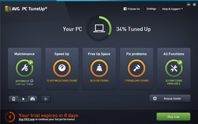 AVG PC TuneUp 2018 Crack + Keygen Full Free Download