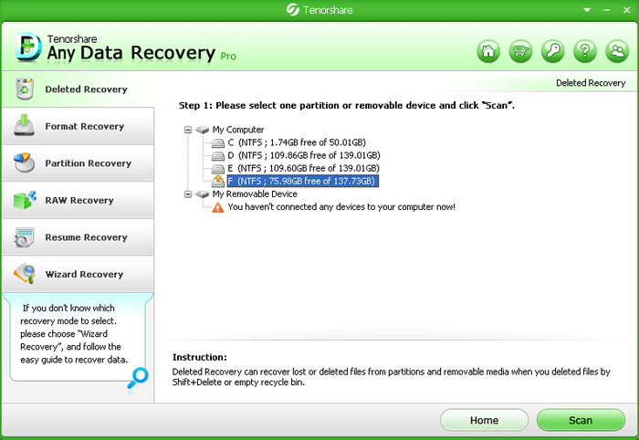 Tenorshare Any Data Recovery Pro 6.3 Crack & Serial Key Full