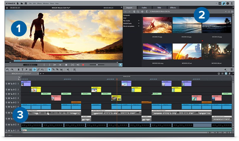 MAGIX Movie Edit Pro Premium 2018 Crack Full Version