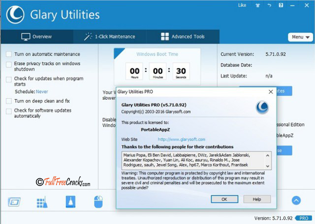 Glary Utilities Pro 5.103.0.125 Portable Keygen Serial key