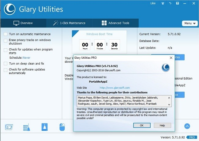 Glary Utilities Pro 5.103.0.126 Serial Key Free Download