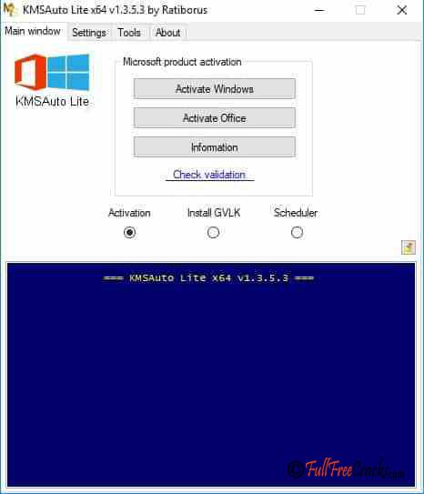 KMSAuto Lite 1.3.6 Portable Full Version