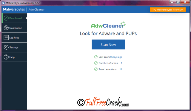 Malwarebytes AdwCleaner 7.2.2 Crack serial key free