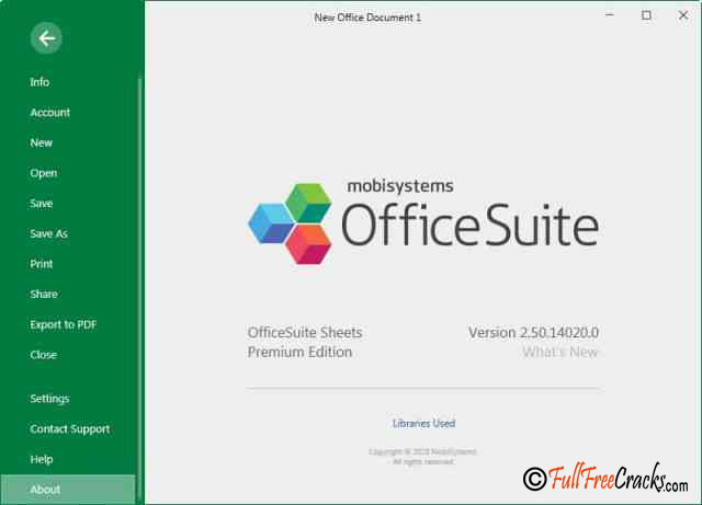 OfficeSuite Premium Edition 2.60.14743.0 Free Download