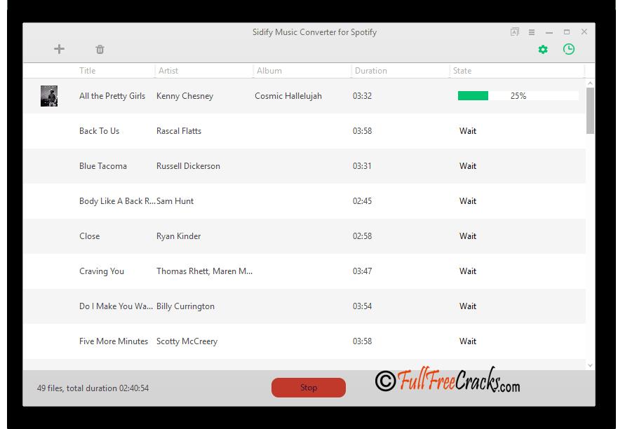 Sidify Crack Music Converter Crack