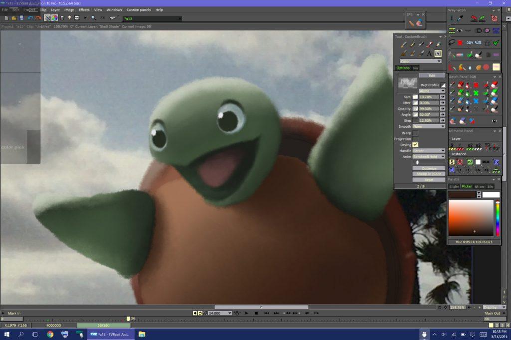 TVPaint Animation 10 Pro Free