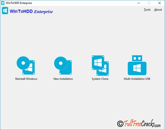 WinToHDD Enterprise 3.0 Free Download