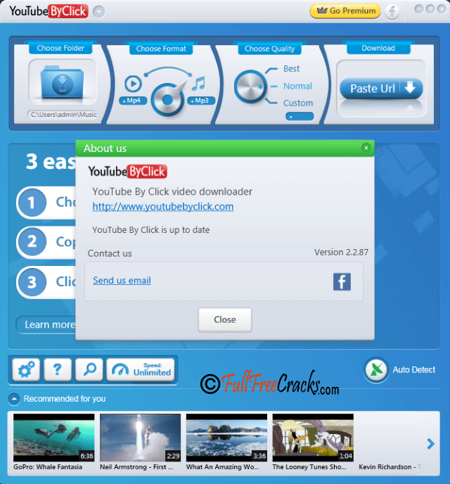 YouTube By Click Premium 2.2.87 Crack Full Version