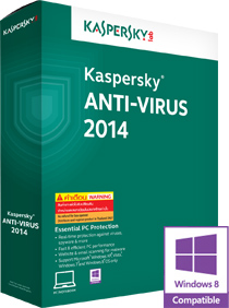 Kaspersky AntiVirus 2014 Keys 365 days + Trial Reset Free
